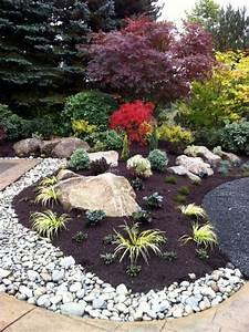 Idée Jardin Zen : 60 id es pour un jardin rocaille d 39 inspiration japonaise partager ~ Dallasstarsshop.com Idées de Décoration