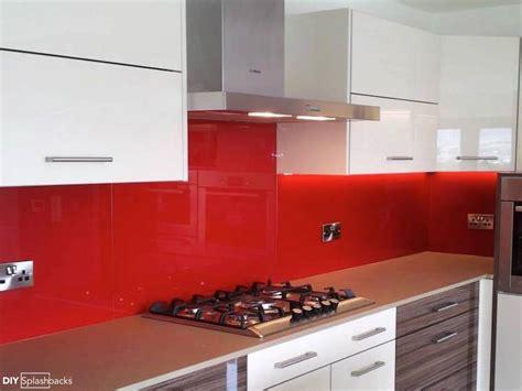 Red Glass Splashbacks