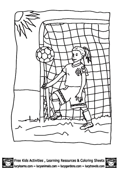 Goal Kleurplaat by Coloring Page Soccer Coloring Pages Coloring