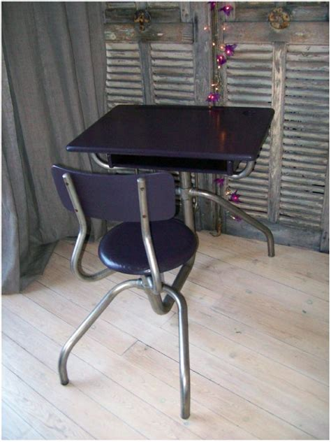 bureau vintage 馥s 50 bureau ecolier vintage 50 39 s de chine en patine