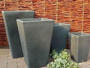 Pflanzkübel Eckig Kunststoff : pflanzkuebel kunststoff wetterfest eckig konisch blumenkuebel blumentopf vase ebay ~ Whattoseeinmadrid.com Haus und Dekorationen