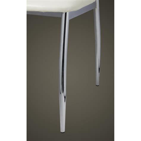 sedie moderne bianche sedie moderne cucina e pranzo 4 pelle e metallo bianche