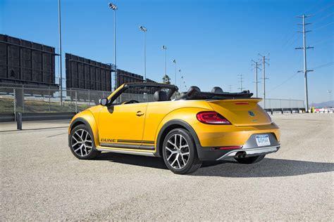 volkswagen convertible 2017 volkswagen beetle dune convertible first test review