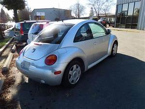 2000 Volkswagen Beetle Bad Transmission For Parts Silver 1
