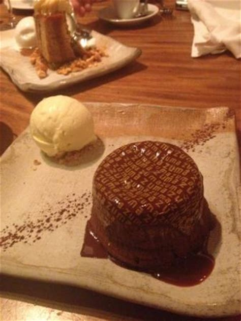 dessert au chocolat picture of zuma miami tripadvisor