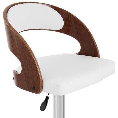 la chaise de bois chaise de bar bois chrome noyer monde du tabouret