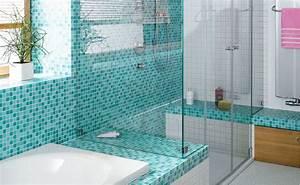 Bad Deko Türkis : badezimmer fliesen mosaik t rkis ~ Sanjose-hotels-ca.com Haus und Dekorationen