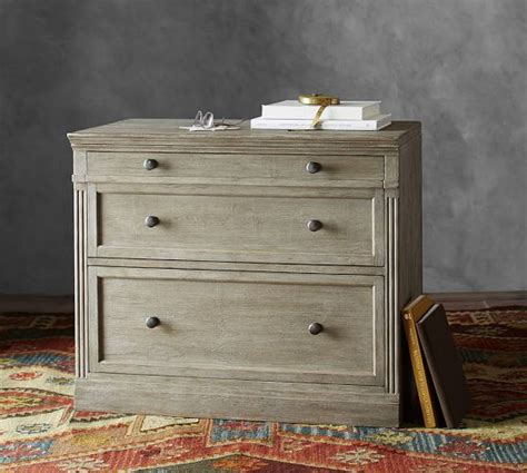 pottery barn file cabinet livingston double 2 lateral file cabinet pottery barn