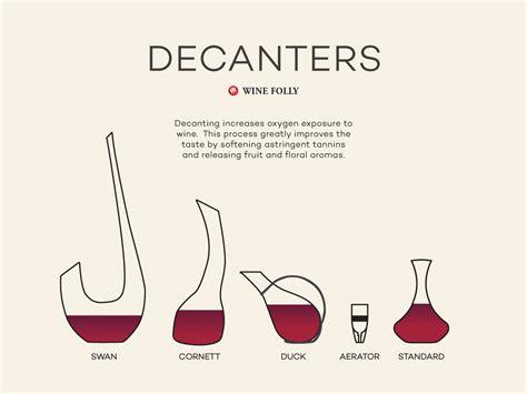 choosing   wine decanter    wine folly
