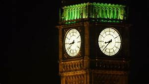 AERIAL United Kingdom-Big Ben At Night 2005: Big Ben With ...