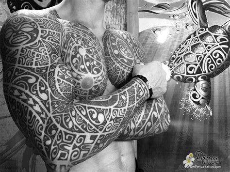 Tatouage Pec Epaule Bras