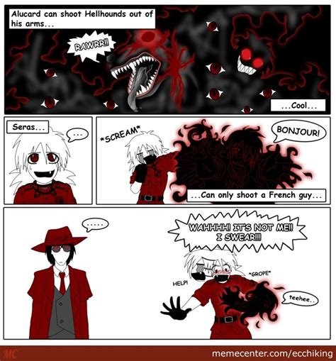 Hellsing Memes - hellsing ultimate memes pictures to pin on pinterest pinsdaddy