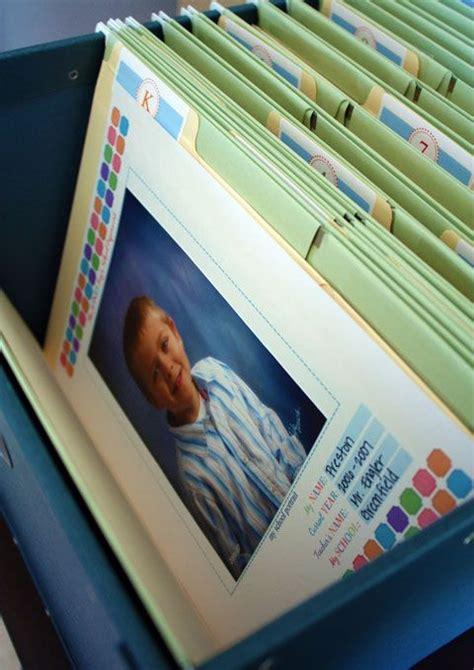 Organizing Kids School Work