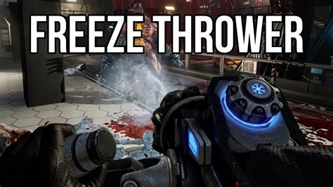 killing floor 2 freezing killing floor 2 freeze thrower youtube