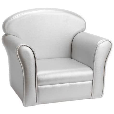 amadeus les petits fauteuil club enfant argent pas cher achat vente fauteuil enfant