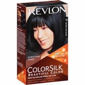 Revlon Colorsilk Hair Color In Natural Blue Black 12