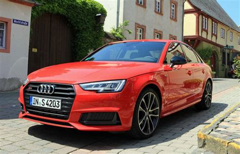 First Drive 2018 Audi S4 Driving