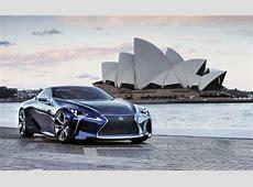 Lexus LFLC Blue Coming to LA – News – Car and Driver