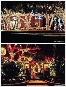 Christmas Lights In River Oaks Houston Texas Christmas California Texas New Mexico Missouri On