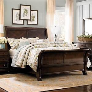 Best 25 Cherry Sleigh Bed Ideas On Pinterest Bedroom