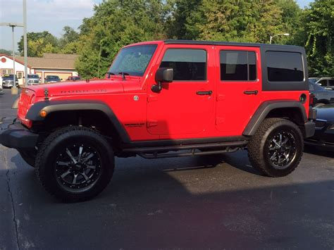 Firecracker Red! #jeep #rubicon #musthave