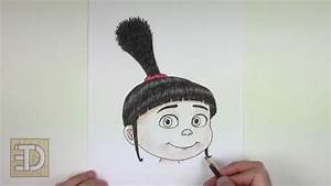 How To Draw Agnes From Despicable Me Step By Step Arcmelcom