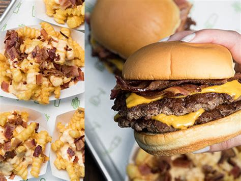 10% discount with proper id: Shake Shack Launches Classic Bacon-Themed Menu For Summer 2017 - Chew Boom