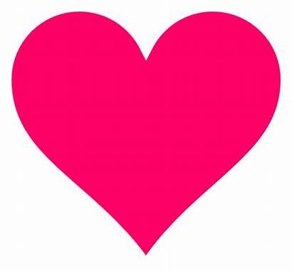 Heart Clker Pink Clip Clipart Vector Hi