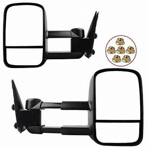 Towing Mirrors For Gmc Silverado Sierra 1999