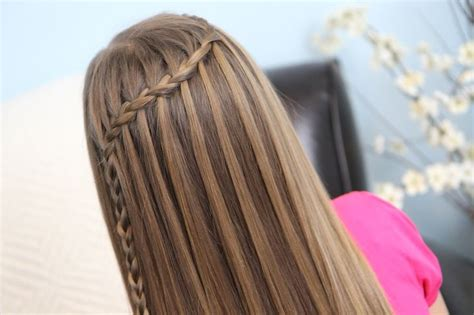 feather waterfall braid cute girls hairstyles photos