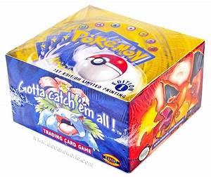 Pokemon Base Set 1 Booster Box 1st Edition DA Card World