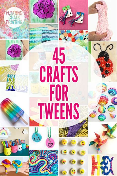 fabulously fun summer crafts  tweens ideas