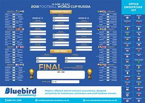 Free World Cup 2018 Wall Chart For Russia
