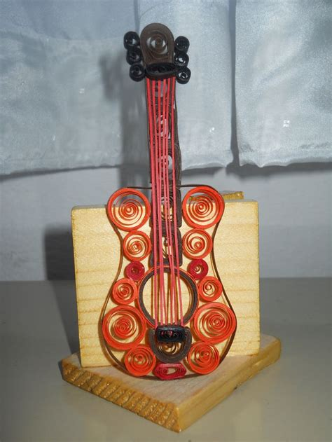 quilling guitar quilling quilling patterns quilling art