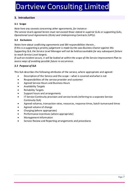 Scope Of Services Agreement Template by Scope Of Services Agreement Template 28 Images Limited