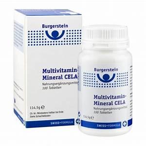 Vitamin D3 Berechnen : burgerstein multivitamin mineral cela tabletten nu3 ~ Themetempest.com Abrechnung