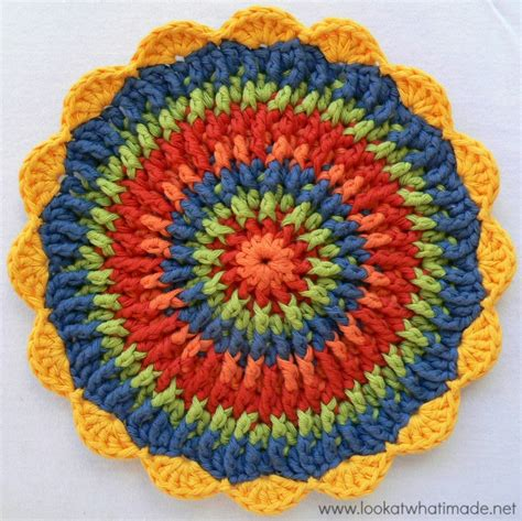crochet potholders front post frenzie crochet potholder look at what i made