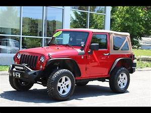 Used 2009 Jeep Wrangler 4wd 2 Door 6 Speed Manual Bfg Mud