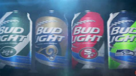 bud light football cans bud light introduces new cans for 28 nfl teams nfl