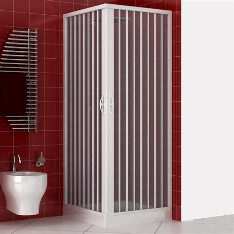 doccia angolare 80x80 box doccia 80x80 cm acrilico angolare apertura a soffietto