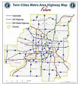Introducing The Twin Cities Metro Area Future Highway Map