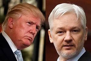 Donald Trump cites Julian Assange in casting doubt on U.S ...