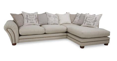 Dfs Corner Couches by Dfs Ranch Fabric Corner Sofa Large