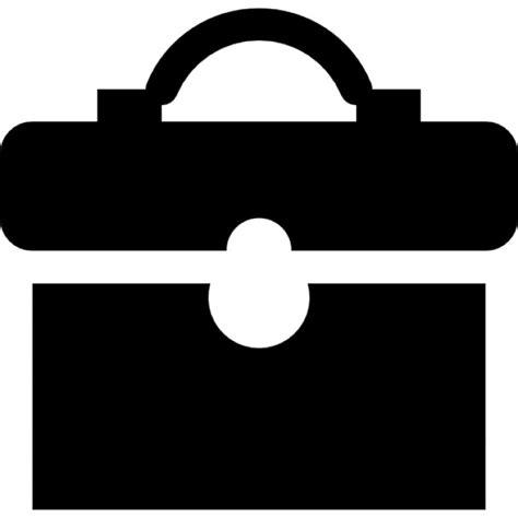 black briefcase icon black briefcase icons free