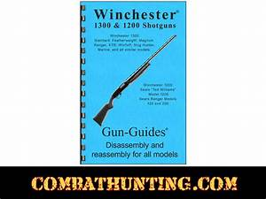 Winchester Manuals Winchester 1300  1200 Shotguns