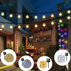 Solar, String, Lights, 7, Meters, 50, Led, 8, Modes, Outdoor, String, Lights, Waterproof, Solar, Fairy