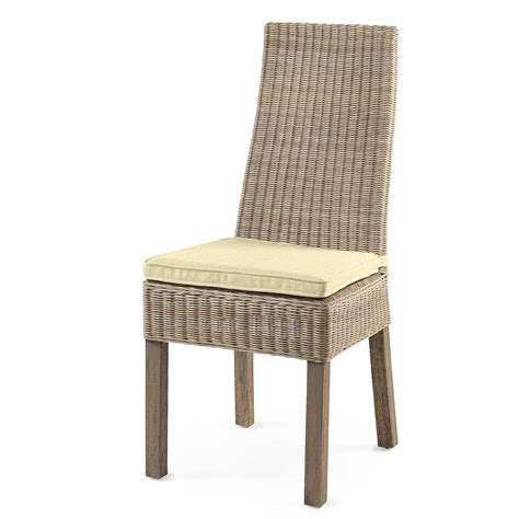 chaises osier chaise de cuisine en osier chaise de cuisine grise