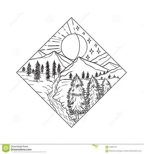 d 237 a sun de la noche y monoline ilustraci 243 n vector ilustraci 243 n de cubo espesor 100821747