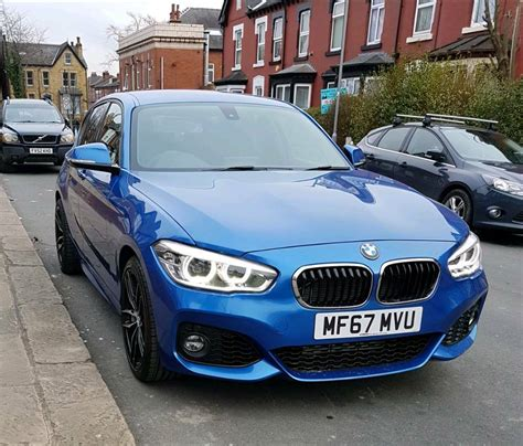 Bmw Mileage by 2017 1 Series Bmw 116d M Sport Auto Facelift Only 600