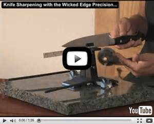 Wicked Edge Knife Sharpener